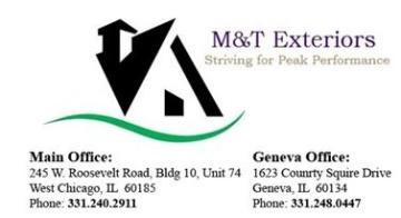 M&T Exteriors Inc.