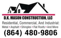 D.K. Mason Roofing & Construction