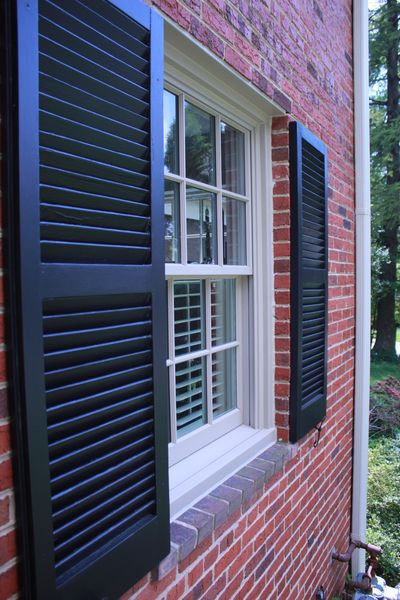 Can Vinyl Shutters Be Painted We Have Some Shutters That