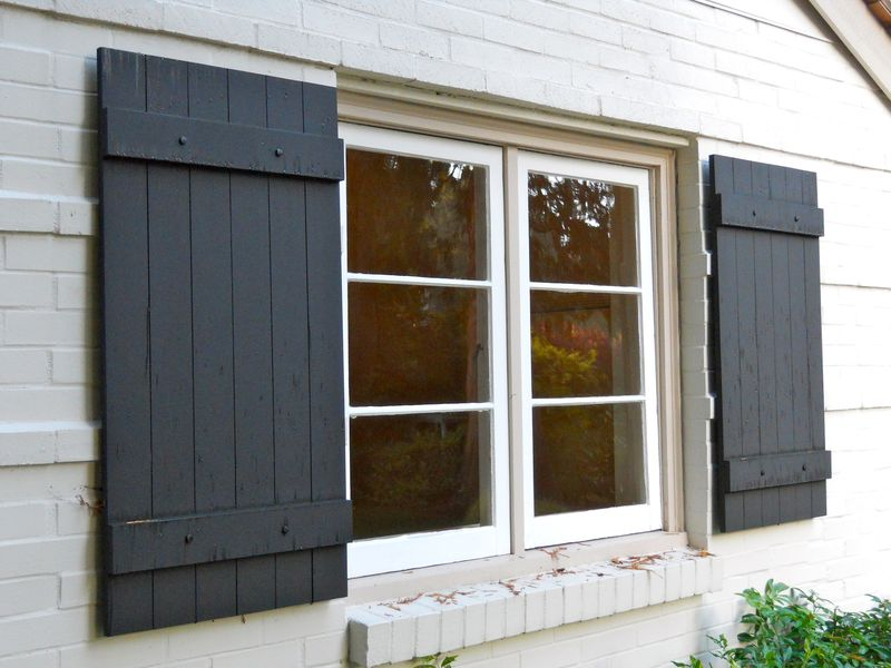 Home improvement ideas from home run solutions joe reed for Paint vinyl shutters