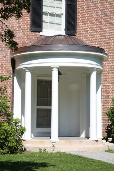 I Want To Update My Front Entrance Portico I Am Having